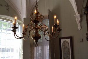 Kroonluchter oude stadhuis Edam