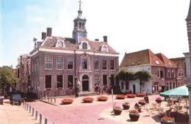 Aanzicht het oude stadhuis van Edam